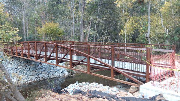 McAlpine Weir Bridge