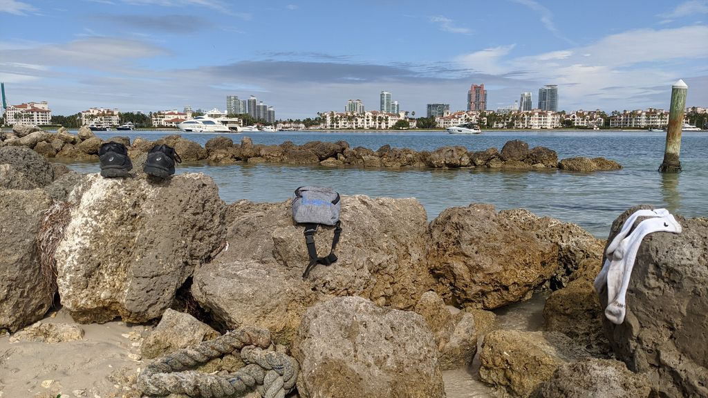Fisher Island from VKBC land