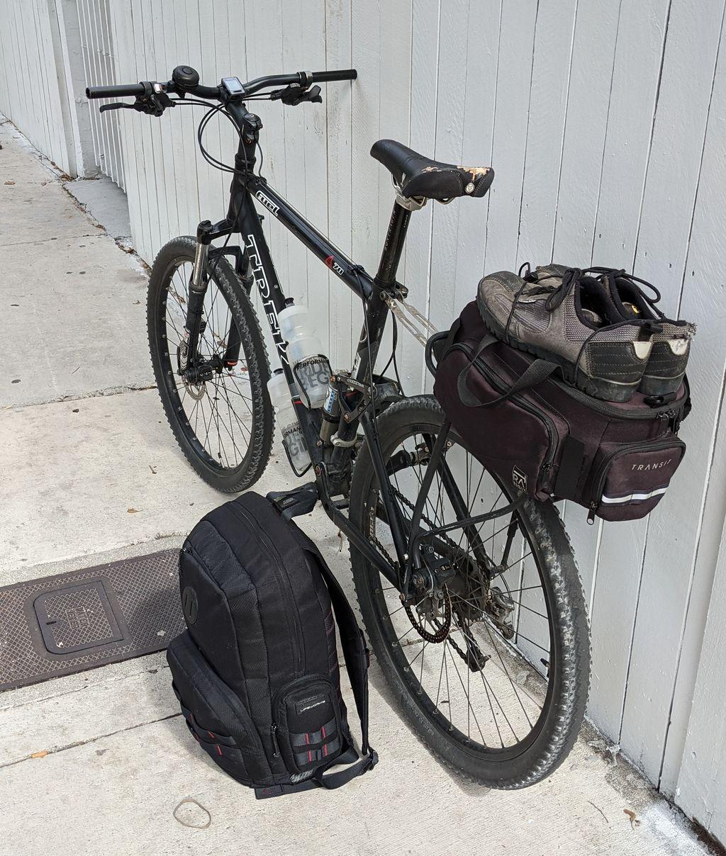 Trek Fuel 70 loaded up