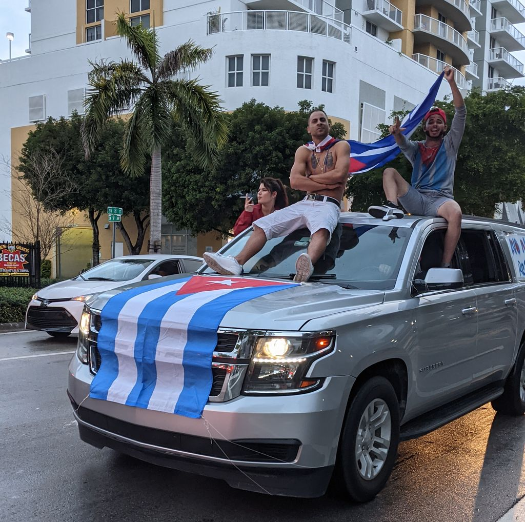 Cuba Libre rally on 8th